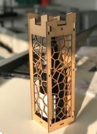 Boite à vin personnalisable découpe laser - imprimerie rouen